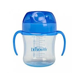 DR BROWN´S TAZA EDUCATIVA NATURAL FLOW 6M+ 170ML