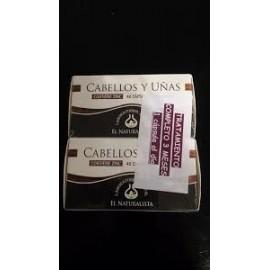 PACK CABELLOS Y UÑAS EL NATURALISTA 48 CAPS