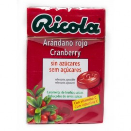 RICOLA CARAMELOS SIN AZUCAR ARANDANO 50 G