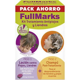 Fullmarks antipiojos y liendres champu + locion