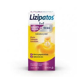 LIZIPATOS 2 EN 1 MALVAVISCO Y MIEL 100 ML