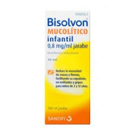 Bisolvon mucolítico infantil (0.8 mg/ml jarabe 100 ml )