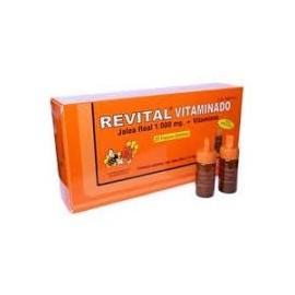 REVITAL VITAMINADO JALEA REAL 20 AMPOLLAS