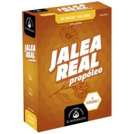 JALEA REAL PROPOLEO EL NATURALISTA 20 VIALES