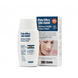 FOTOPROTECTOR ISDIN 100+ SUN ACTIVE UNIFY FUSION FLUID 50ML