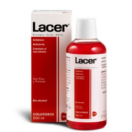 LACER COLUTORIO ROJO 500ML