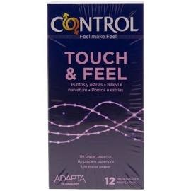 CONTROL PRESERVATIVOS LE CLIMAX TOUCH&FEEL 12U