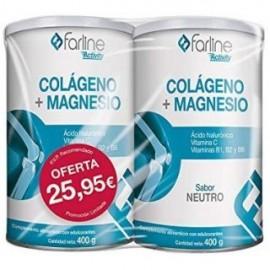Farline Colágeno + Magnesio Neutro Duplo 2x400gr