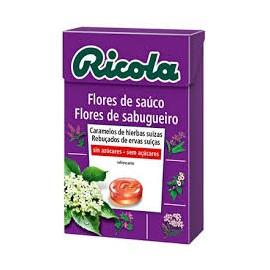 RICOLA CARAMELOS SIN AZUCAR FLOR DE SAUCO 50 G