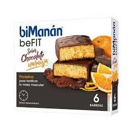 Bimanan pro barrita chocolate naranja dieta hipe