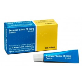 Zovicrem labial (50 mg/g crema 1 tubo 2 g )