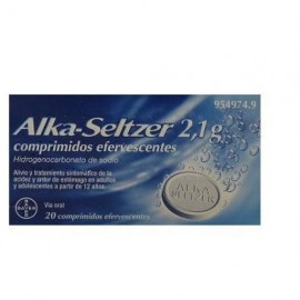 Alka-seltzer (2.1 g 20 comprimidos efervescentes )