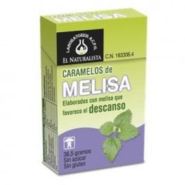 CARAMELOS DE MELISA SIN AZUCAR EL NATURALISTA 40