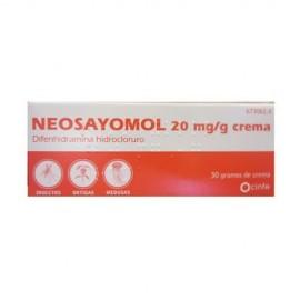 Neosayomol (20 mg/g crema 30 g )
