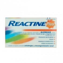 Reactine cetirizina/pseudoefedrina (5/120 mg 14 comprimidos liberacion prolongada )