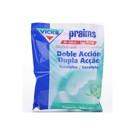 Caramelos praims eucalipto doble accion 60 g