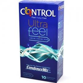 CONTROL ULTRAFEEL PRESERVATIVOS PACK 10 U 2UNIDA
