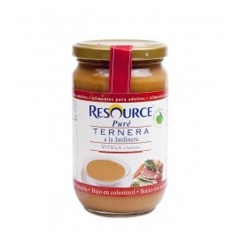 Resource pure 300 g ternera a la jardinera