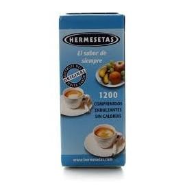 Hermesetas edulcorante original 1200 comp