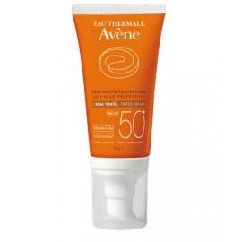 Avene 50+ sun crema coloreada para piel seca 50 ml