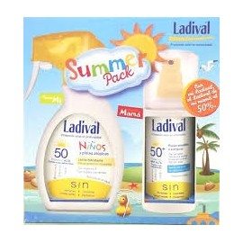 LADIVAL 50 SUN PACK INFANTIL LECHE+ADULTO SPRAY