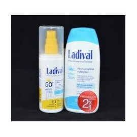 LADIVAL 50+ SUN SRPAY OIL FREE 150ML + AFTERSUN