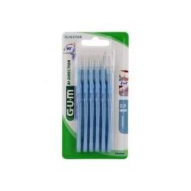 Gum cepillo interdental bidirection 0.9 azul