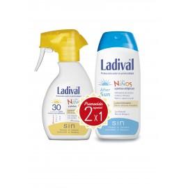 Ladival 30 sun niños leche spray 200ml 50fps + After sun
