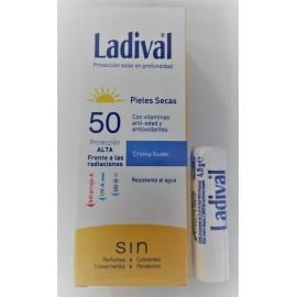 Ladival 50 sun crema pieles secas 75ml