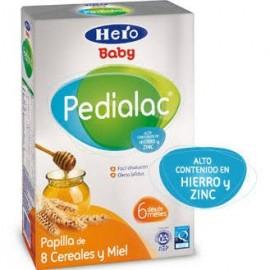 Pedialac papilla 8 cereales y miel 600 g Hero Baby