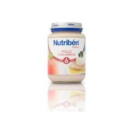 Nutriben pollo con arroz 200 g junior