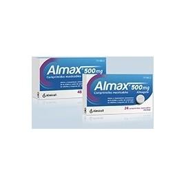 Almax (500 mg 24 comprimidos masticables )