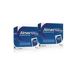 Almax forte (1.5 g 12 sobres suspensión oral )