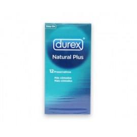 Preservativo DUREX Natural Plus EasyOn 12 u