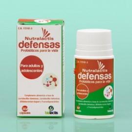 NUTRALACTIS DEFENSAS 30 CAPSULAS