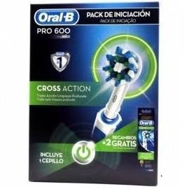 CEPILLO ORAL-B PRO 600 CROSS PACK