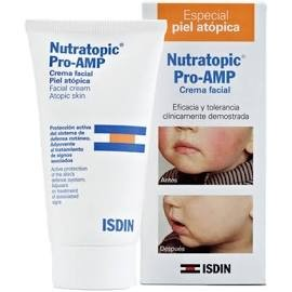 Nutratopic crema facial pro amp piel atopic 50ml