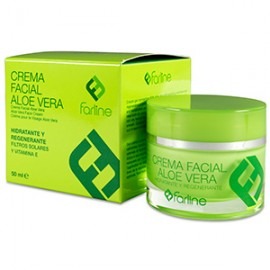 Farline crema facial aloe vera 50 ml