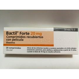 bactil forte 20mg comprimido recubierto