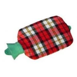 Bolsa agua caliente 2 l forrada escoces