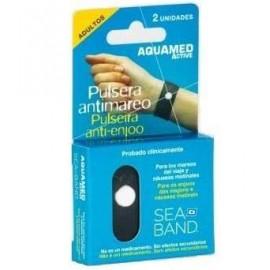 Aquamed active pulsera antimar adulto 2u