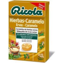 RICOLA CARAMELOS SIN AZUCAR HIERBAS - CARAMELO 5