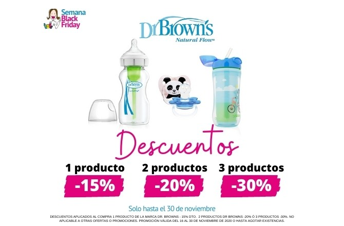 Descuentos Black Friday Dr. Brown's